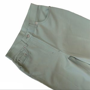 UNITED COLORS OF BENETTON mint coloured high waist